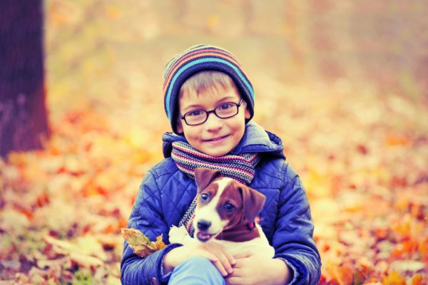 Kids and Pets - Want healthier kids? Get a Pet.