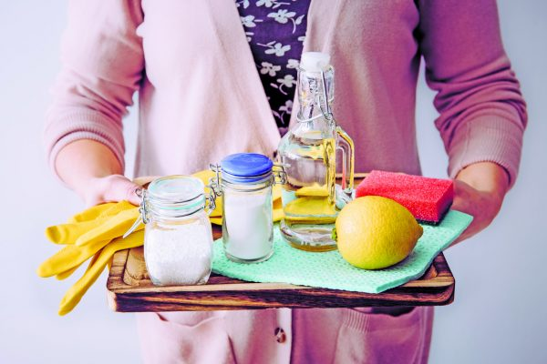 Low-tech Ways to Smarten Up Your Home - natural cleaners